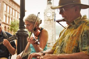 Music on the Square all summer long.